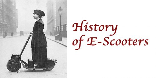History of E-Scooters